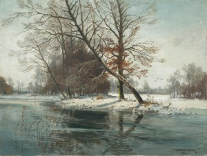 Winterlandschaft ⋅ um 1930 Image