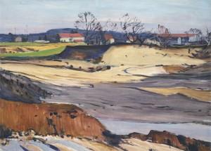 Sandgrube im Chiemgau ⋅ um 1955/60 Image