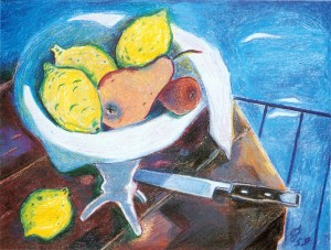 Stillleben mit Früchteschale ⋅ 1959 Image
