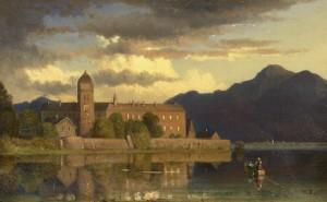 Mondnacht am Chiemsee ⋅ um 1858 Image