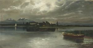 Blick zur Herreninsel Image