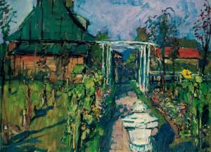 Garten in Harras ⋅ um 1930 Image