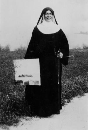 Chorfrau M. Gabriela Reiter, OSB (Künstlername: Gabriela von Frauenwörth; bürgerlicher Name: Thekla Reiter) Image