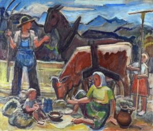 Mittag auf dem Felde ⋅ 1947 Image