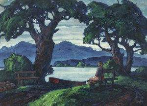 Inselmorgen ⋅ 1947 Image