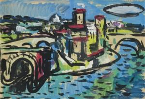 Italienische Stadtlandschaft ⋅ 1980 Image