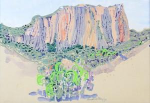 Landschaft mit Berg ⋅ 1971 Image
