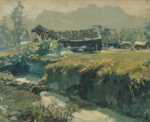 Torfstich im Ernsdorfer Moor ⋅ 1947 Image