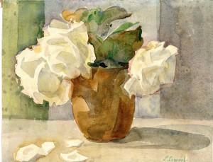 Weiße Rosen Image