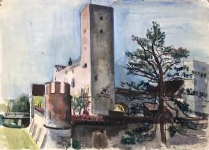Schloss Grünwald bei München ⋅ 1941 Image