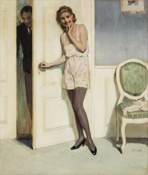 In Erwartung ⋅ um 1930 Image