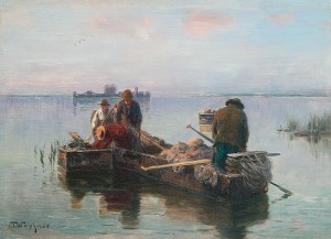 Chiemseefischer ⋅ um 1883 Image