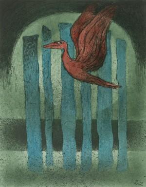 Roter Vogel ⋅ um 1980 Image