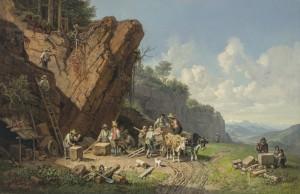 Steinbruch ⋅ um 1864/68 Image