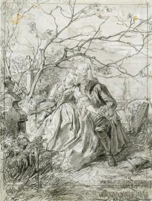Die Leiden des jungen Werther ⋅ 1875 Image