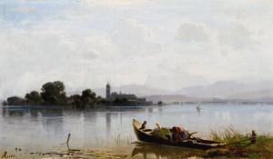 Sommer am Chiemsee ⋅ um 1860 Image