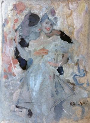 Pierrot und Columbine ⋅ um 1925/30 Image