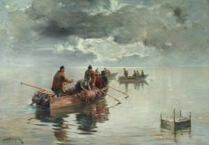 Nebelstimmung am Chiemsee ⋅ 1910 Image