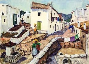 Dorf auf Rhodos ⋅ um 1960 Image