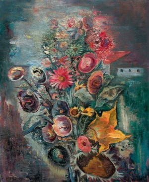 Feldwieser Blumenstrauß ⋅ 1932 Image