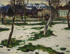 Schneeschmelze (Feldwies) ⋅ um 1945 Image