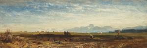 Der Wendelstein von der Münchner Hocheben aus ⋅ um 1864/65 Image
