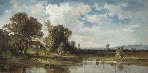Altwasser mit Gehöft ⋅ um 1930 Image