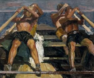 Die Ruderer ⋅ um 1925 Image