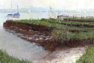 Lände am Ostufer (Fraueninsel) ⋅ 1998 Image