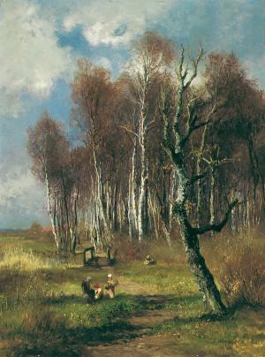 Frühling ⋅ 1885 Image