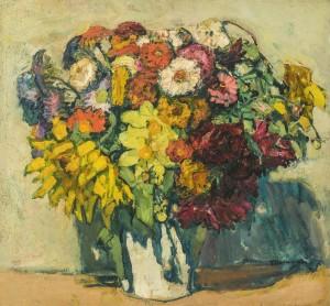 Leuchtende Sommerblumen ⋅ um 1925 Image