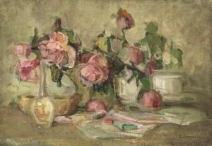 Stillleben mit Rosen ⋅ um 1925 Image