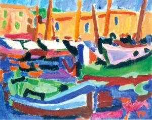 Le Port (St. Tropez) ⋅ um 1950 Image