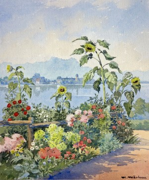 Bauerngarten am Chiemsee Image