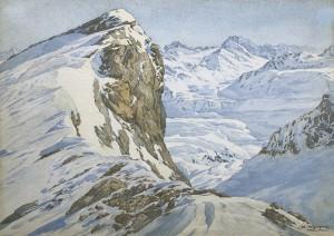 Winterlandschaft bei Zürs Image