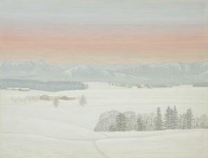 Winterabend ⋅ 1961 Image