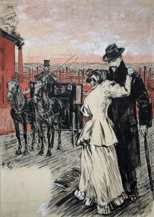 Abschied ⋅ um 1910 Image