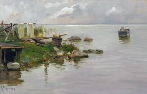 Inselufer ⋅ um 1890 Image