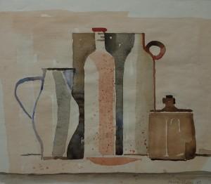 Stillleben mit Krügen ⋅ 1989 Image