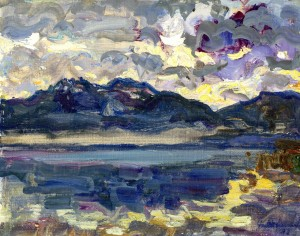 Herbst am Chiemsee ⋅ 1982 Image