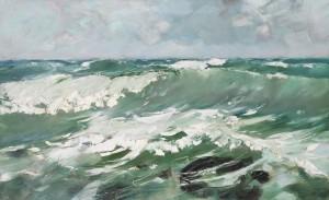 Meereswogen ⋅ 1912 Image