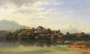 Altes Stifft Herrenchiemsee ⋅ 1859 Image