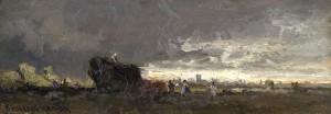 Aufziehendes Gewitter vor München Image