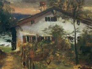 Ehemaliges Hoixlfischer-Haus auf der Fraueninsel ⋅ um 1945 Image