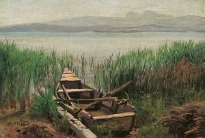 Kahn im Schilf ⋅ um 1880 Image