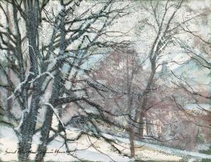 Winter ⋅ um 1940 Image