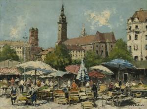 München - am Viktualienmarkt Image