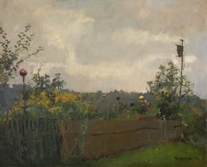 Bauerngarten am Chiemsee ⋅ 1908 Image