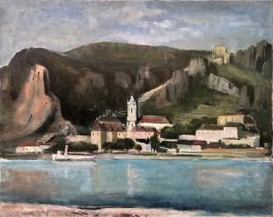 Kloster Dürnstein an der Donau in der Wachau Image