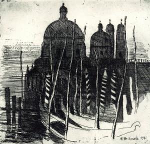 Gondeln in Venedig ⋅ 1981 Image